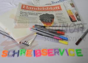 fastNOTE SchreibService weltweit