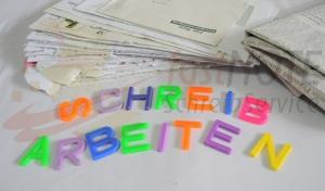 Schreibarbeiten wie Adressrecherche