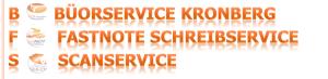 Ihr Profi-Schreib-Service - BüroService Kronberg