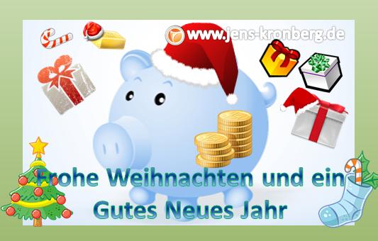 Frohe Weihnachten wünscht BüroService Kronberg!