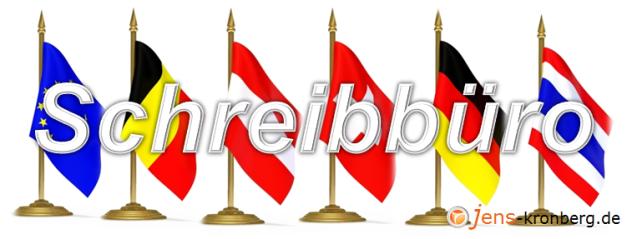 Schreibbüro aus Thailand für den deutschsprachigen Raum