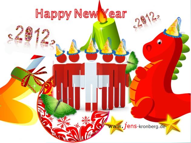 Alles Gute für 2012 wünscht BüroService Kronberg!
