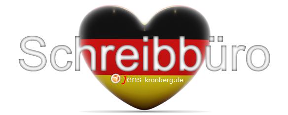 Schreibbüro für Kunden aus Deutschland