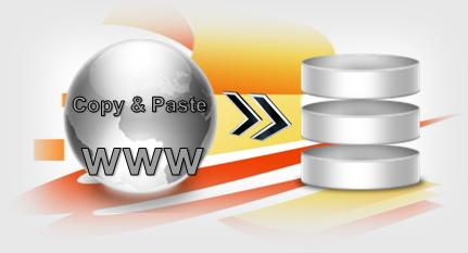 Büroservice Angebot per copy & paste Adressen aus dem Web übertragen