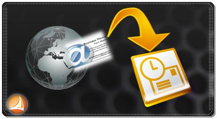 Büroservice Angebot Adresspflege; vCard anlegen für Outlook