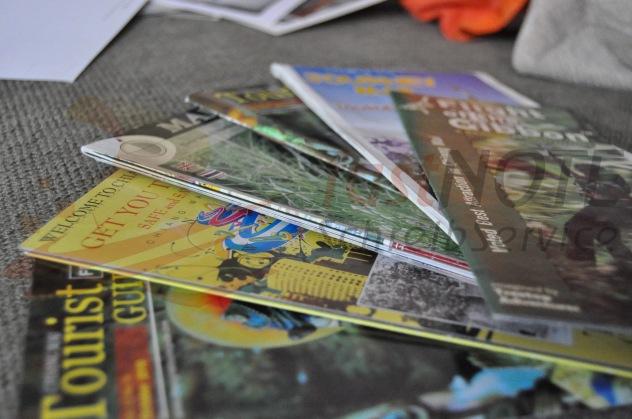 Adressen aus Anzeigen-, Magazinen und Wochenblättern eingeben