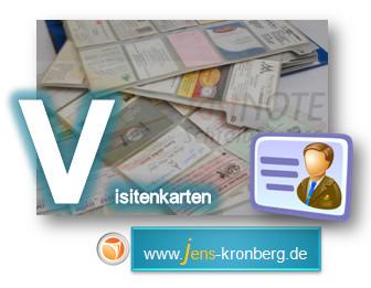 Schreibdienst: Adresseingabe Visitenkarten als vCard