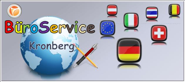 BüroService Kronberg-Ihr Büroservice für den deutschsprachigen Raum