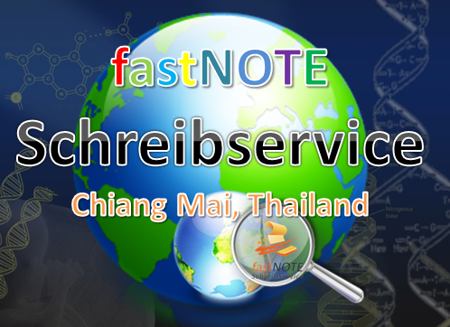 fastNOTE SchreibService aus Chiang Mai, Thailand