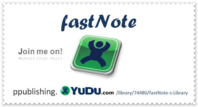 fastNOTE SchreibService präsentiert auf YUDU aktuelle Informationen zum Büroservice, Scanservice und Schreibservice Portfolio