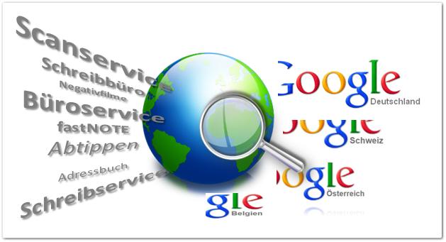Sekretariatsarbeiten - Online Recherche von Adressen und Daten