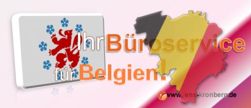 Ihr Büroservice für Belgien