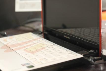 Papiere die mit Texterkkennung nicht bearbeitet werden können abtippen