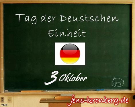 BüroService Kronberg wünscht alles Gute zum Tag der Deutschen Einheit!