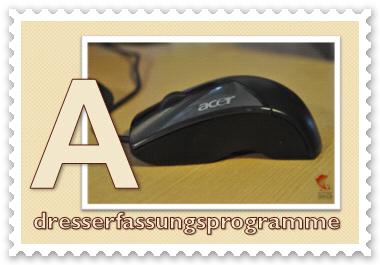 fastNOTE SchreibService - Glossar Adresserfassungsprogramme