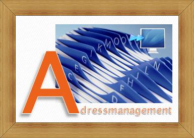 fastNOTE SchreibService Glossar - Adressmanagement