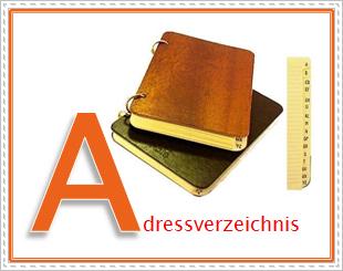 fastNOTE SchreibService Glossar – Adressverzeichnis