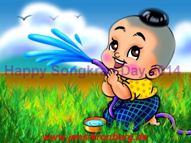 BüroService Kronberg wünscht Happy Songkran 2014
