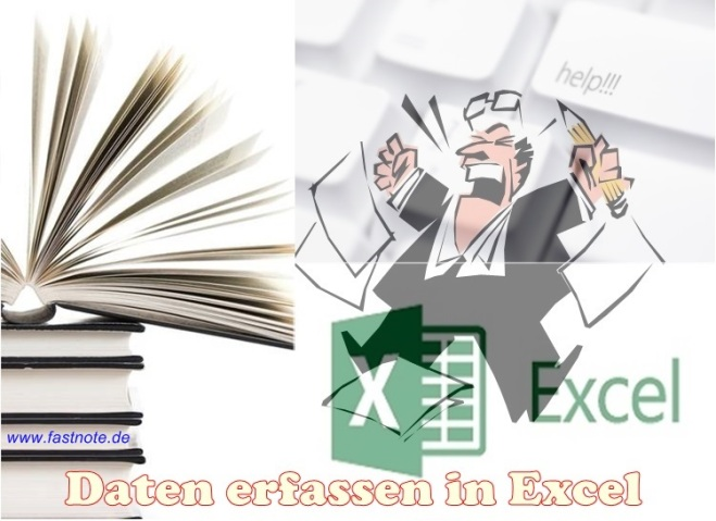 Daten erfassen in Excel