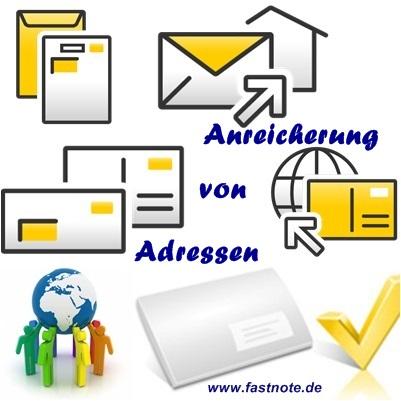 18.05.2016 Digitalisierung und Anreicherung von Adressen