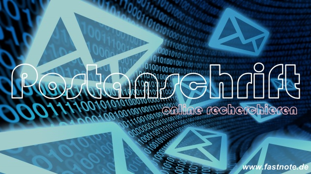 Adressen von Postrückläufern online nachrecherchieren